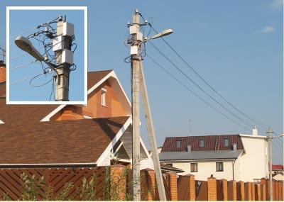 Система СУП-04 для учета электроэнергии в СНТ